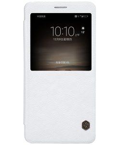 Huawei Mate 9 NILLKIN Qin Smart Cover, Valkoinen.