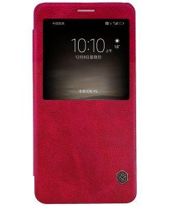 Huawei Mate 9 NILLKIN Qin Smart Cover, Punainen.
