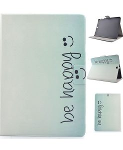 Samsung Galaxy Tab S2 9.7 Wallet Cover, Face and Words.