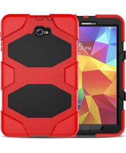 Samsung Galaxy Tab A 10.1 Heavy Duty, Punainen.