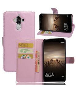 Huawei Mate 9 Lychee Grain Suojakotelo, Pink.