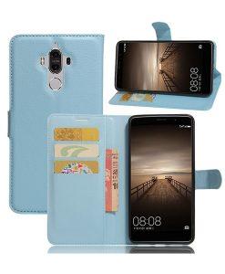 Huawei Mate 9 Lychee Grain Suojakotelo, Sininen.