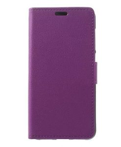 Huawei Honor 8 Lite Wallet Leather Case, Lila.