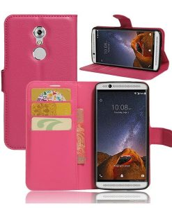ZTE Axon 7 mini Wallet Cover Suojakotelo, Rose.