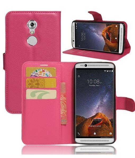 ZTE Axon 7 mini Wallet Cover Suojakotelo, Rose.