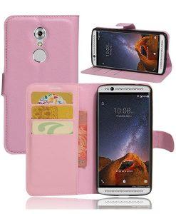 ZTE Axon 7 mini Wallet Cover Suojakotelo, Pink.