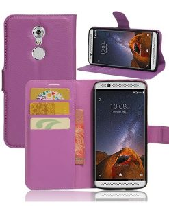 ZTE Axon 7 mini Wallet Cover Suojakotelo, Lila.