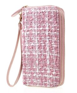 Universal 5.5 inch Wallet Pouch Käsilaukku, Pink.