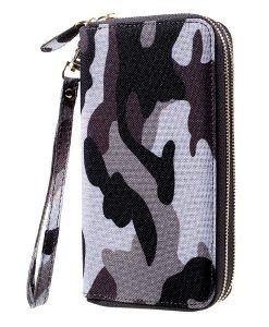 Universal 5.5 inch Wallet Pouch Käsilaukku, Grey.