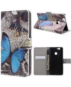 Huawei Nova Wallet Leather Stand Case