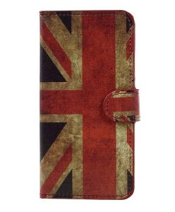Huawei Honor 8 Lite Patterned Wallet, UK Flag.