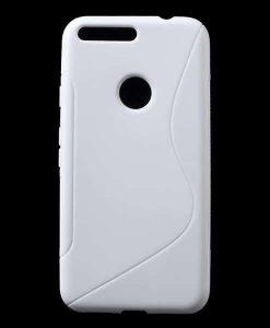 Google Pixel XL S Shape TPU Case, Valkoinen.