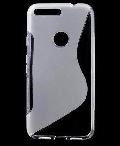 Google Pixel XL S Shape TPU Case, Kirkas.
