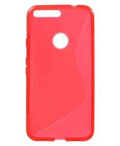 Google Pixel XL S Shape TPU Case, Punainen.