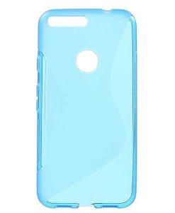 Google Pixel XL S Shape TPU Case, Sininen.