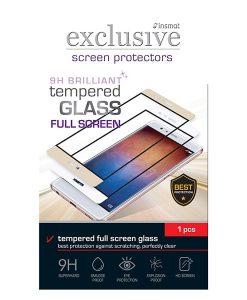 INSMAT Full Screen Brilliant Glass Honor 8 Lite, Musta.