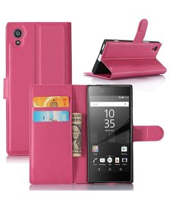 Sony Xperia XA1 Wallet Leather Case