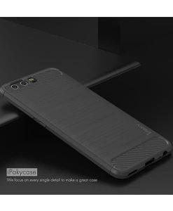 Huawei P10 Plus IPAKY Carbon Fiber Case