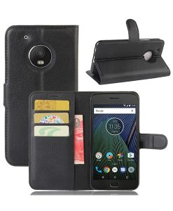 Motorola Moto G5 Plus Wallet Leather Case