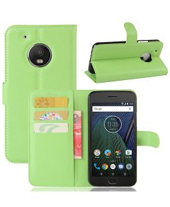 Motorola Moto G5 Plus Wallet Leather Case