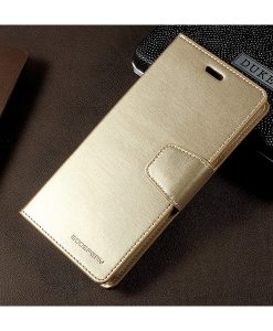 Samsung Galaxy S8+ Mercury Sonata Suojakotelo, Gold.