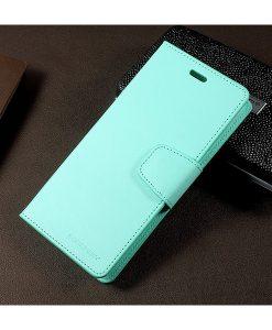 Samsung Galaxy S8+ Mercury Sonata Suojakotelo, Cyan.
