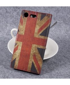 Sony Xperia XZ Premium Wallet Flip Cover, UK Flag.