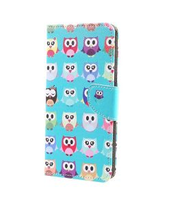 Sony Xperia XA1 Ultra Pattern Printing Wallet Case, Owl 3.