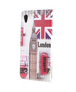 Sony Xperia XA1 Ultra Pattern Printing Wallet Case, Big Ben.