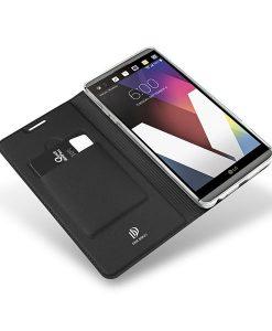 LG G6 Dux Ducis Skin Pro Series, Musta.