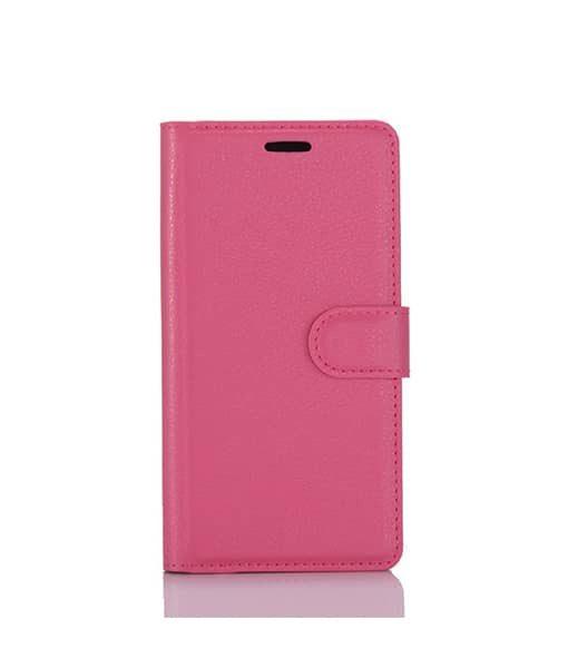 LG G6 Wallet Leather Case, Rose.