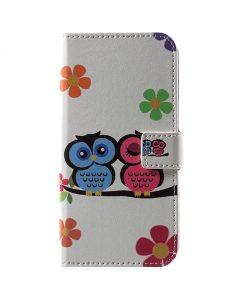 LG G6 Pattern Printing Wallet Case, Owl 2.