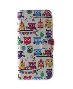 LG G6 Pattern Printing Wallet Case, Owl 3