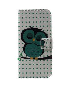 LG G6 Pattern Printing Wallet Case, Owl 1