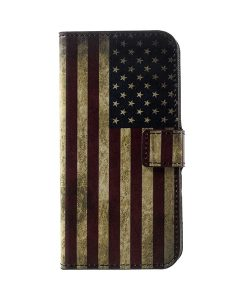 LG G6 Pattern Printing Wallet Case, US Flag