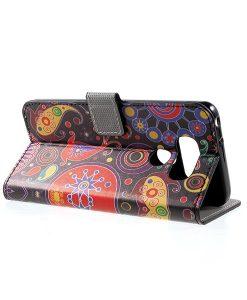 LG G6 Pattern Printing Wallet Case, Paisley Patter