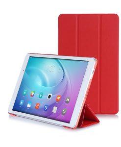 Huawei MediaPad T2 Pro 10.1 Slim Tri-fold Case, Punainen.