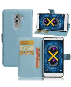 Huawei Honor 6X Wallet Leather Case, Lila.