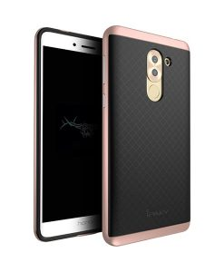 Huawei Honor 6X IPAKY Hybrid Case Cover, Rose Gold.
