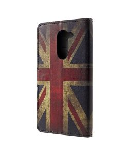 Huawei Honor 6X Pattern Printing Wallet Case, UK Flag.