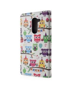 Huawei Honor 6X Pattern Printing Wallet Case, Owl 3.