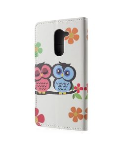 Huawei Honor 6X Pattern Printing Wallet Case, Owl 2.