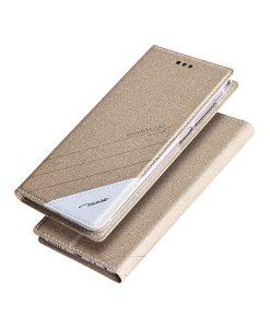 Huawei Honor 6X TSCASE Flip Case, Gold.