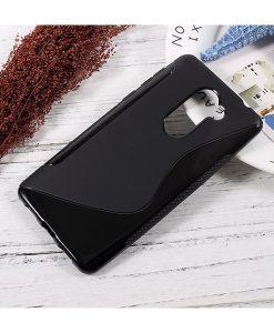 Huawei Honor 6X S Shape TPU Case, Musta.