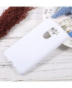 Huawei Honor 6X S Shape TPU Case, Valkoinen.