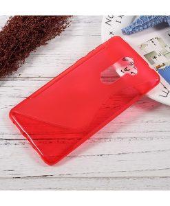 Huawei Honor 6X S Shape TPU Case, Punainen.