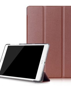 Asus ZenPad 3S 10 10.1 Tri-fold Smart Case, Ruskea.