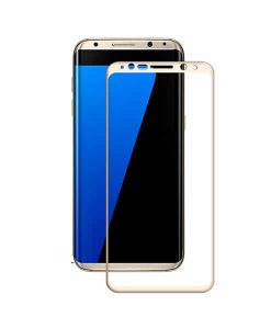 Samsung Galaxy S8+ AMORUS Full Size Panssarilasi, Gold.