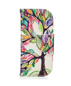 Nokia 3310 Pattern Printing Wallet Case, Colorized Tree.