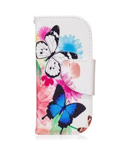 Nokia 3310 Pattern Printing Wallet Case, Vivid Butterfly.
